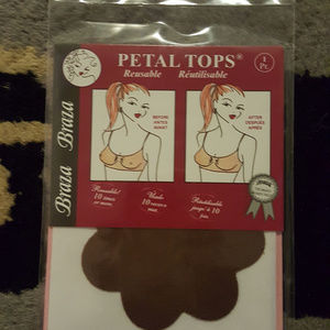 Braza Petal Tops 4 pairs New in Package cocoa